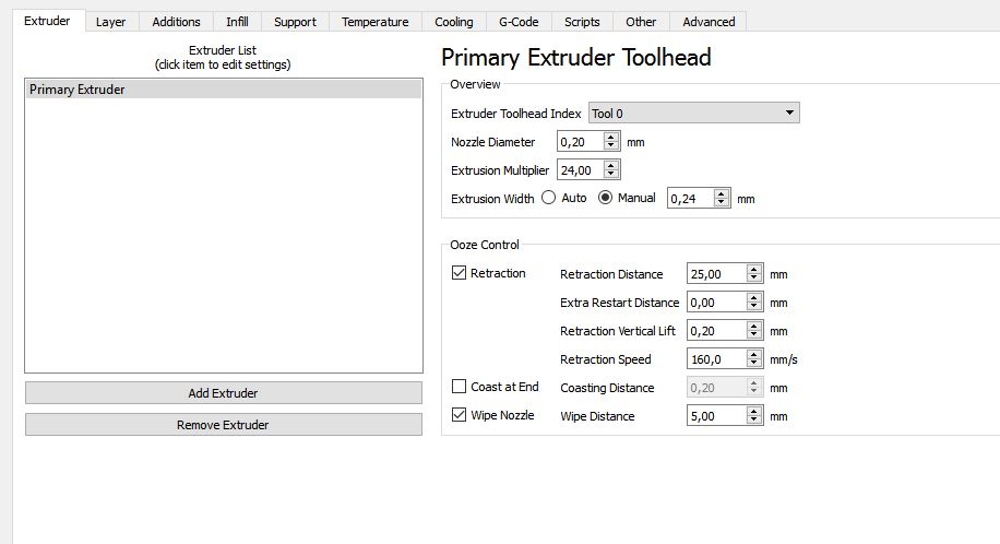Gcode Printing - Simplify3D profile released! - Cetus - Tiertime